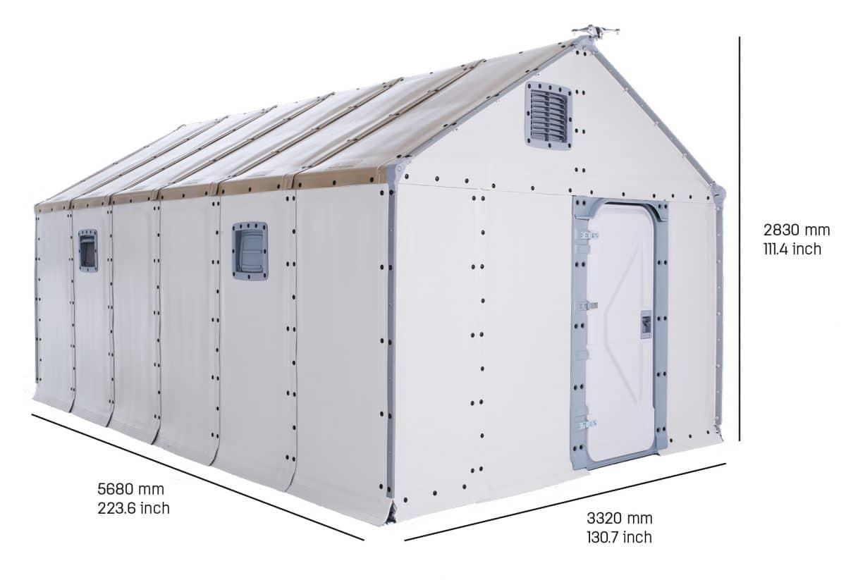 flatpack σκηνή IKEA