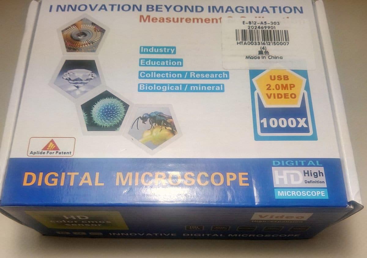 Kelima U203 μικροσκόπιο