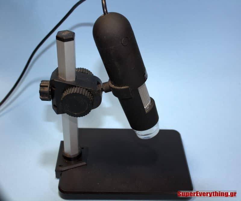 kelima μικροσκόπιο