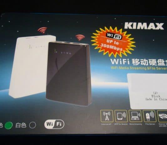 Kimax wifi θήκη δίσκου