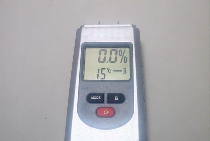 μετρητής υγρασίας Powerfix