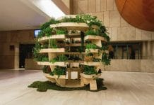 Growroom, ένα αστικό θερμοκήπιο σε σχήμα σφαίρας