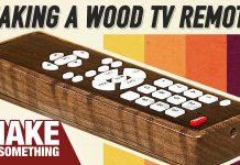 μετατροπή απλού τηλεκοντρόλ σε ξύλινο
