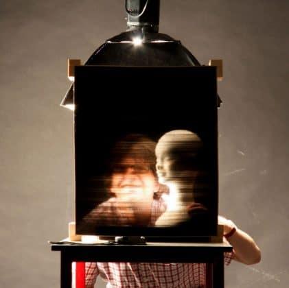 Φωτογραφικό φίλτρο pixel από πλαστικά καλαμάκια