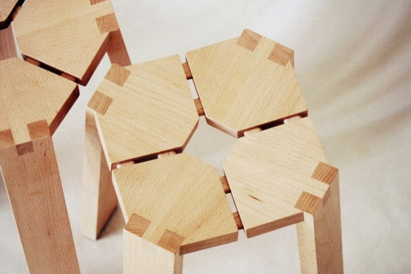 Πρωτότυπα open source ξύλινα σκαμπό
