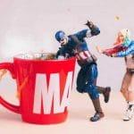 Ρεαλιστικές αναπαραστάσεις με κούκλες από σούπερ ήρωες
