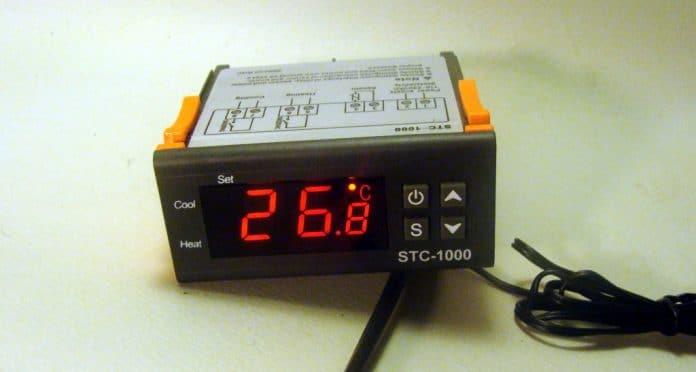 ψηφιακός θερμοστάτης STC 1000