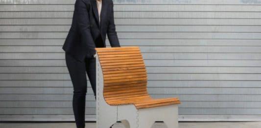 σπαστή καρέκλα αλουμινίου