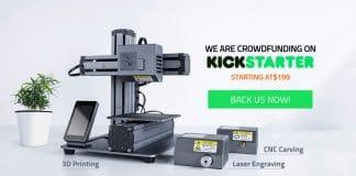 3d εκτυπωτής - CNC λέιζερ