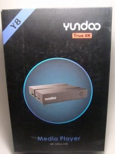 Review στο Yundoo Y8 android tvbox