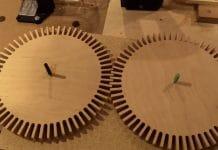 DIY ξύλινα γρανάζια