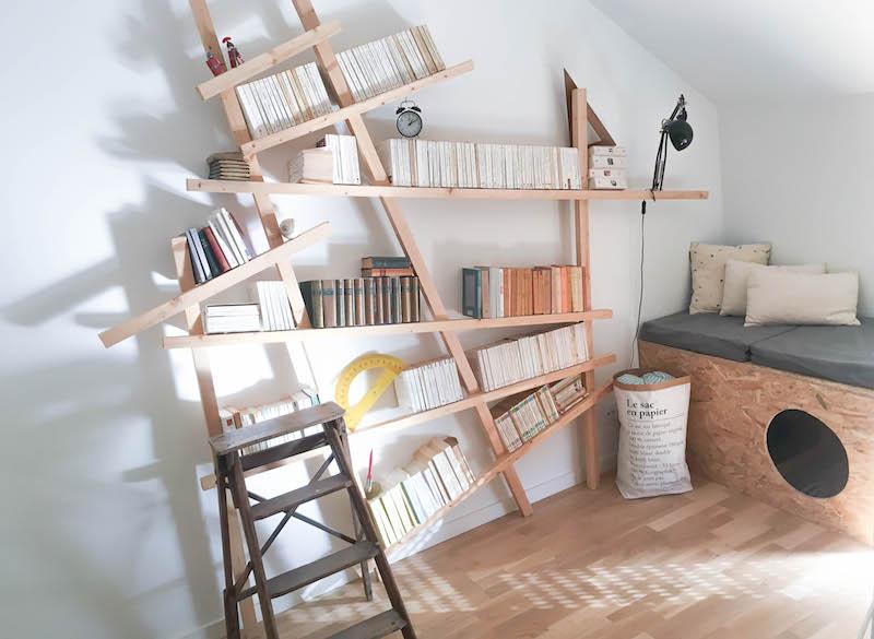 ανισόρροπη βιβλιοθήκη