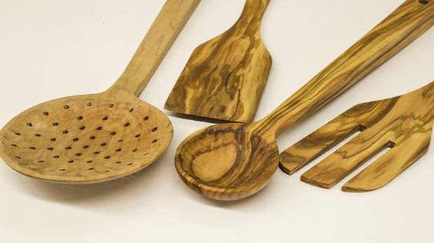 DIY ξύλινα εργαλεία μαγειρικής