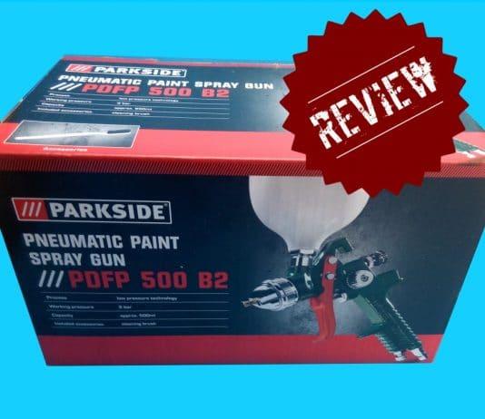 πιστόλι βαφής αέρος Parkside