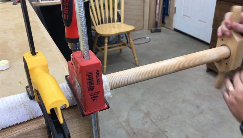 DIY ξύλινοι σφιγκτήρες
