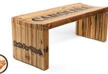 Ξύλινο παγκάκι από παλέτα