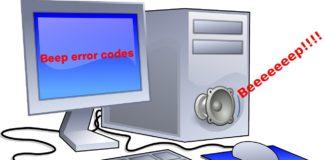 βλάβες υπολογιστή, beep codes