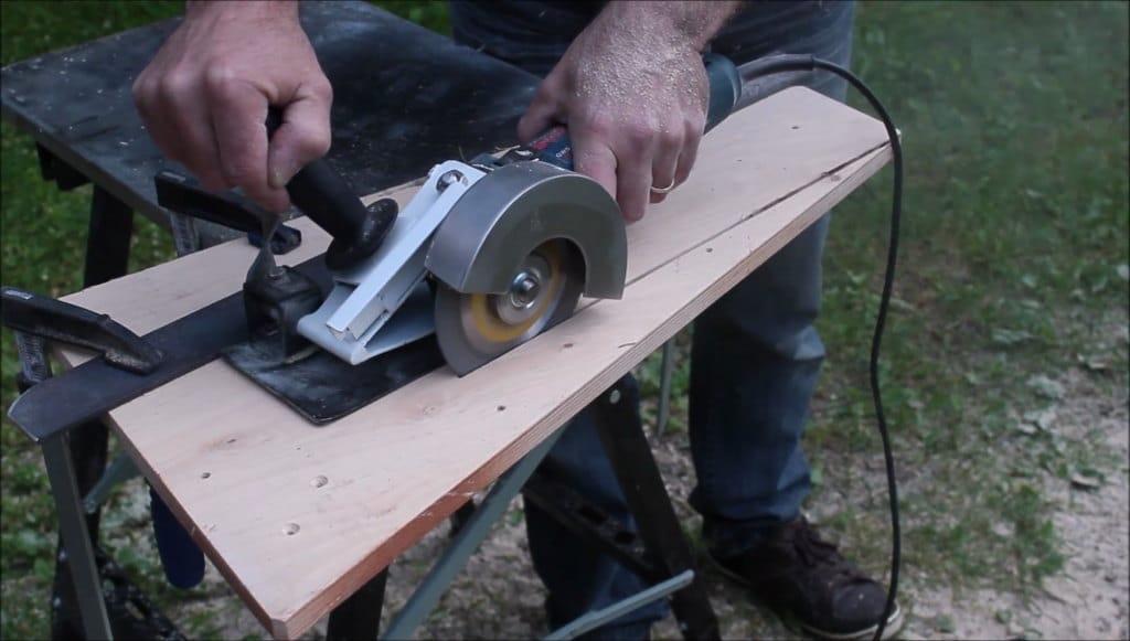 DIY εξάρτημα για γωνιακό τροχό