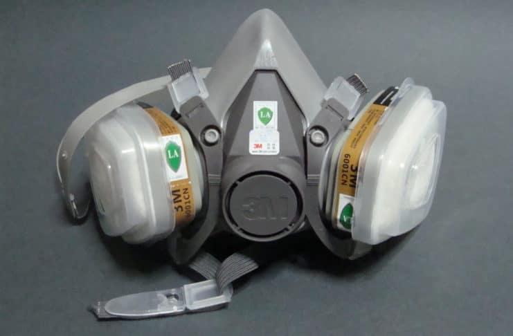 μάσκα αερίων 3M