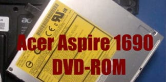 DVD-ROM σε λάπτοπ ACER ASPIRE
