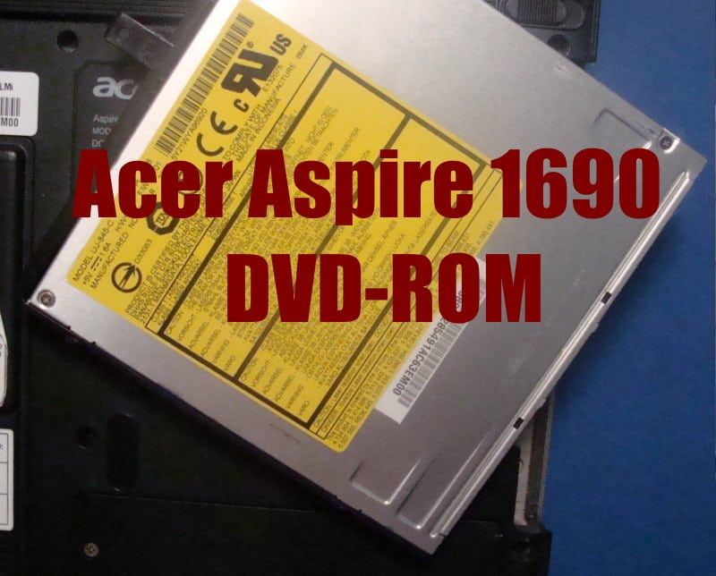 DVD-ROM σε λάπτοπ ACER ASPIRE