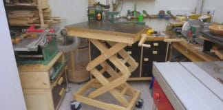 Diy ξύλινος πάγκος ανύψωσης