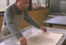 απομίμηση μαρμάρου σε χαρτί