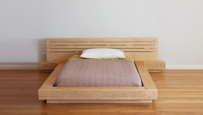 614a08ecfce4 DIY μοντέρνο κρεβάτι από κόντρα πλακέ - SuperEverything
