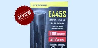 φακός τσέπης nitecore ea45s