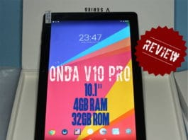 Onda V10 Pro review