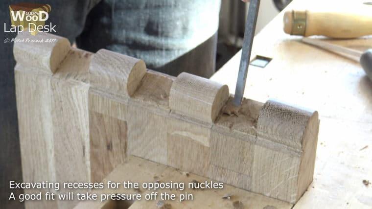 ξύλινοι μεντεσέδες