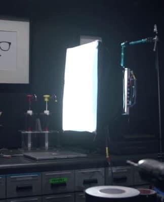 diy φωτιστικό για φωτογραφικό στούντιο