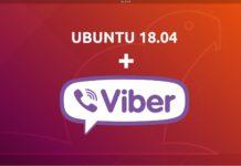 viber σε ubuntu 18.04