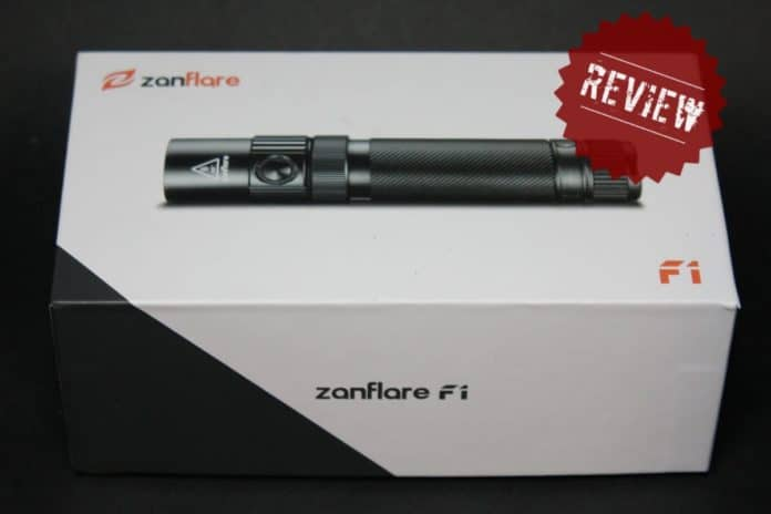 zanflare f1 φακός