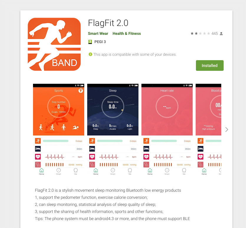 flagfit 2.0 app