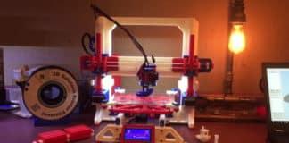 3D εκτυπωτής φτιαγμένος από 3D εκτυπωτή