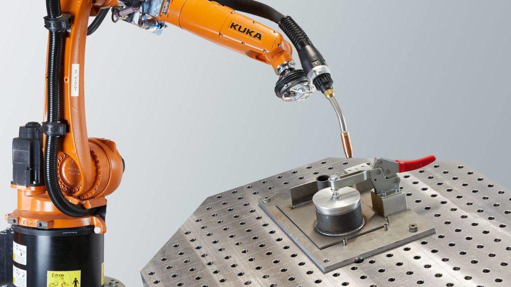 ρομποτικό χέρι kuka