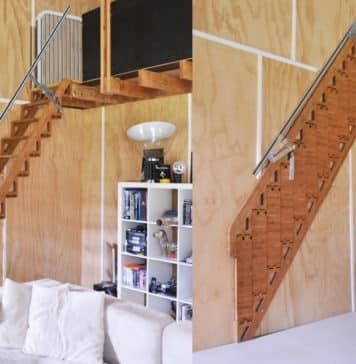 αναδιπλούμενη σκάλα