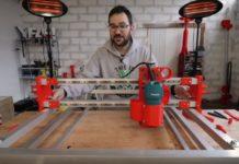 diy CNC με 3d εκτυπωτή