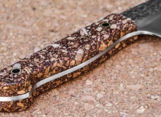 DIY λαβή μαχαιριού από φελλό