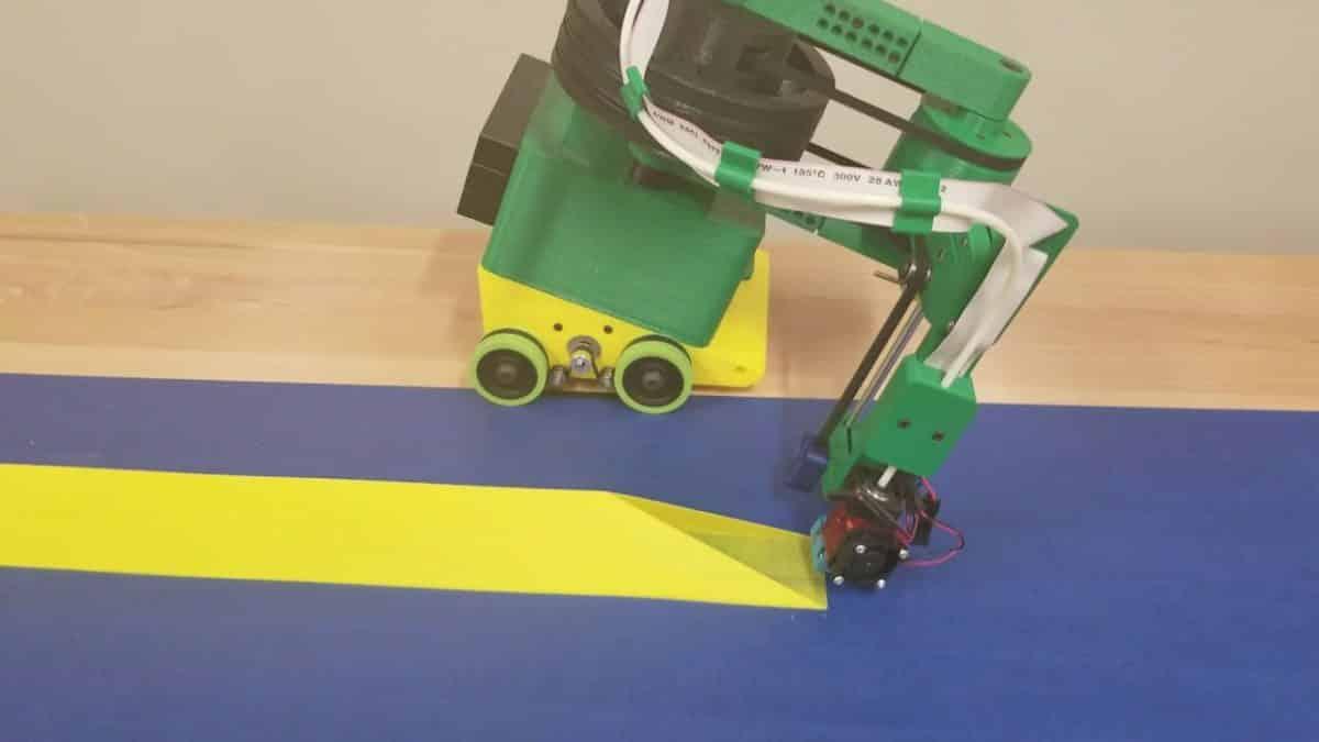 κινούμενος 3D εκτυπωτής