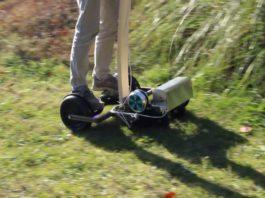 hoverboard χορτοκοπτικό
