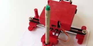 μίνι CNC plotter