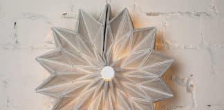 origami φωτιστικά