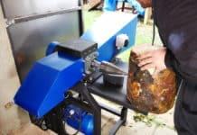 DIY κλαδοτεμαχιστής και σχιστικό ξύλων