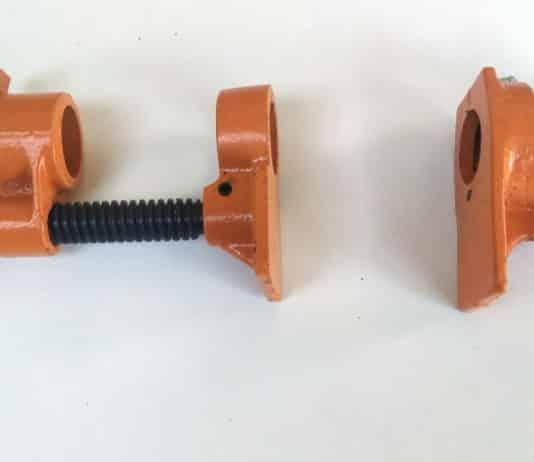 σφιγκτήρας για σωλήνα (pipe clamp)