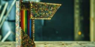μολυβοθήκη από μολύβια