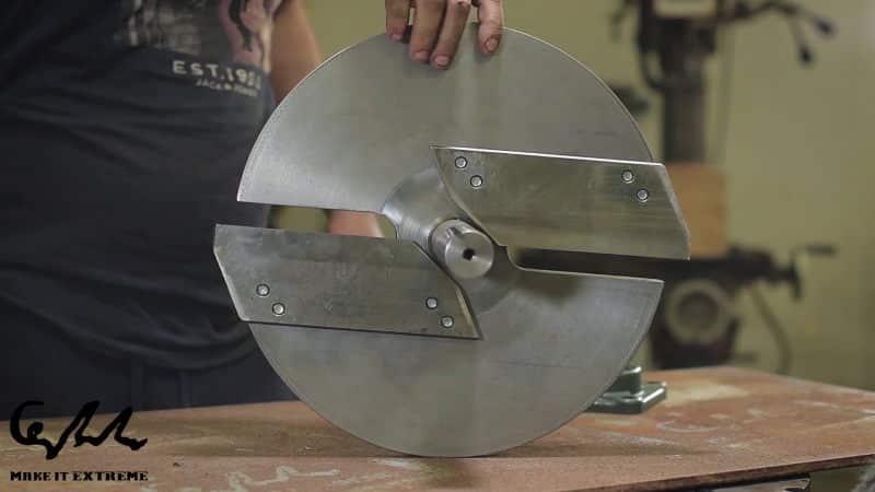 μαχαίρια από DIY κλαδοτεμαχιστή