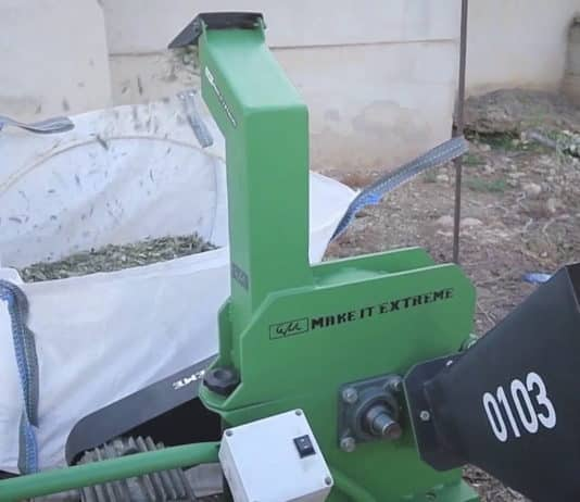 DIY κλαδοτεμαχιστής