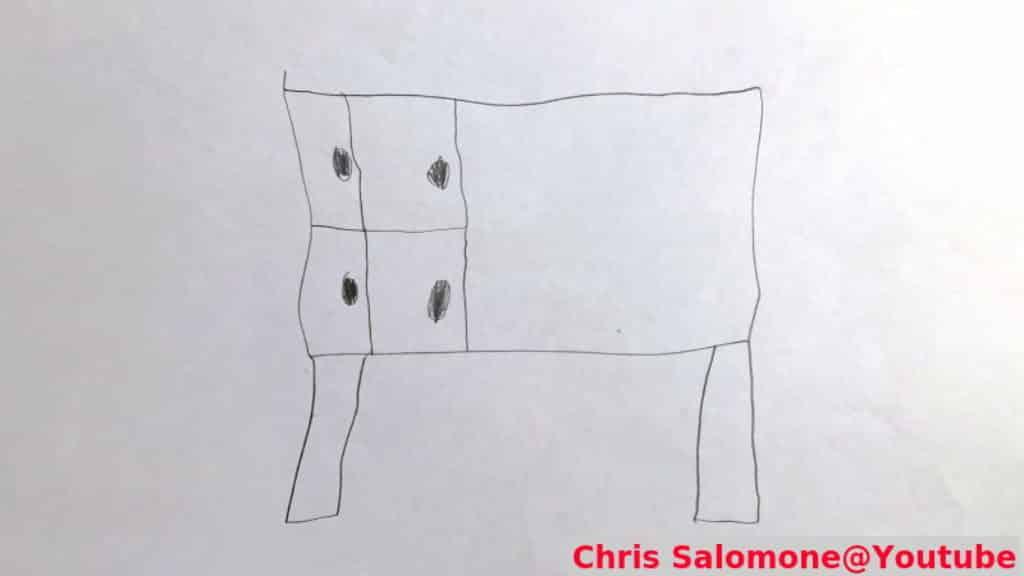 παιδικό σκίτσο επίπλου